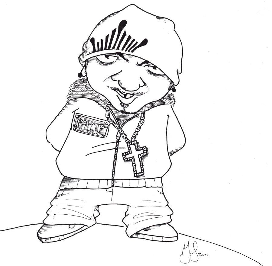 900x881 Gangsta V1 By Gabcartoon