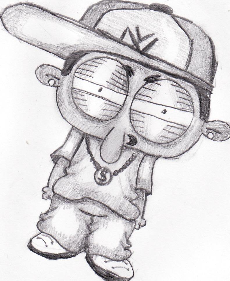 791x965 Gangsta Rapper By W King