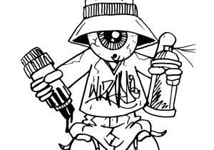 300x210 Graffiti Karakter Gangsta Drawing A Cholo Character (By Wizard