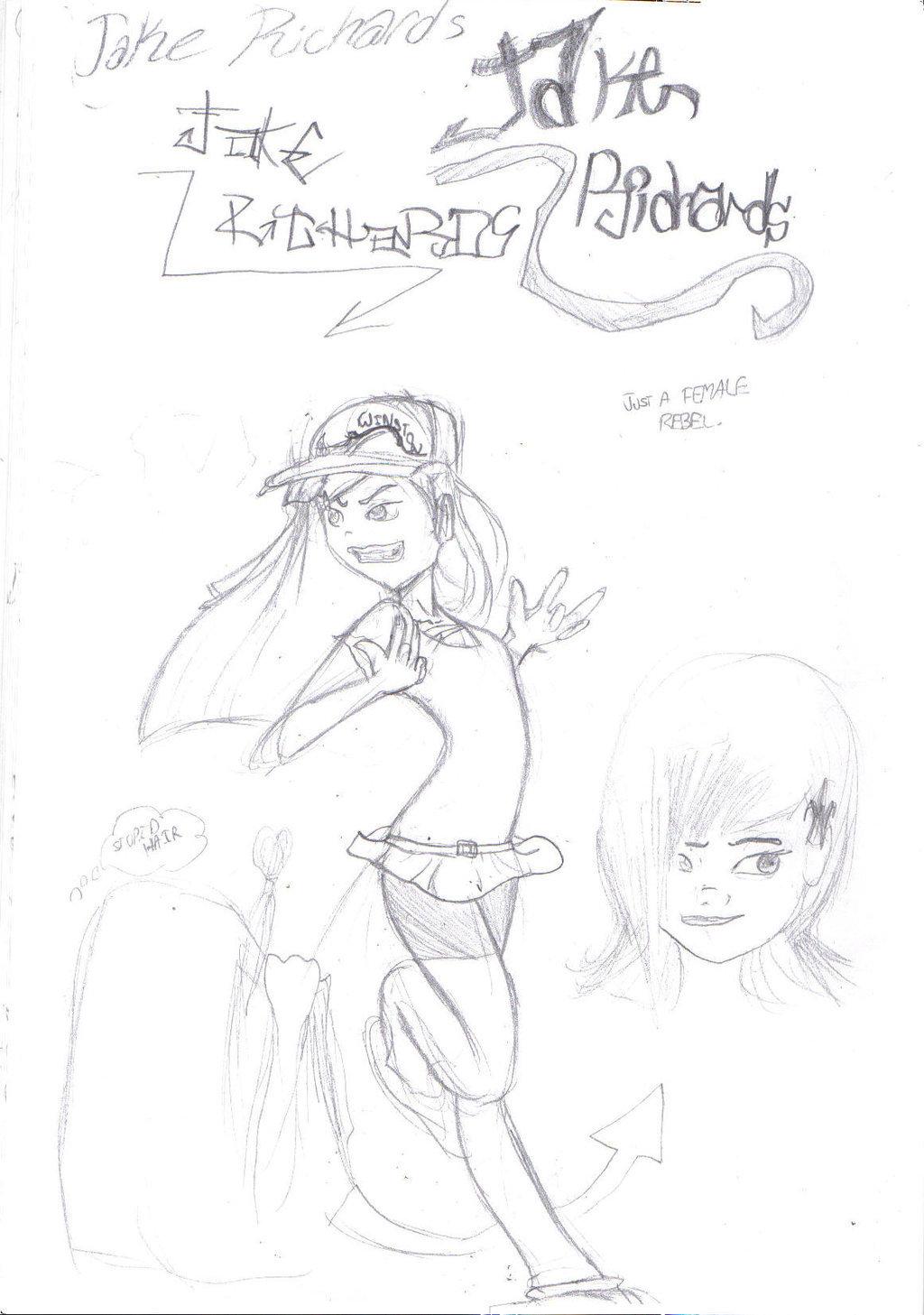 1024x1457 Gangsta Girl By Superdude9000