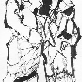 270x270 Giffin Ted Artwork Bawdy Girl Original Drawing Pencil