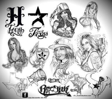 383x336 Dope Aztec Tattoos