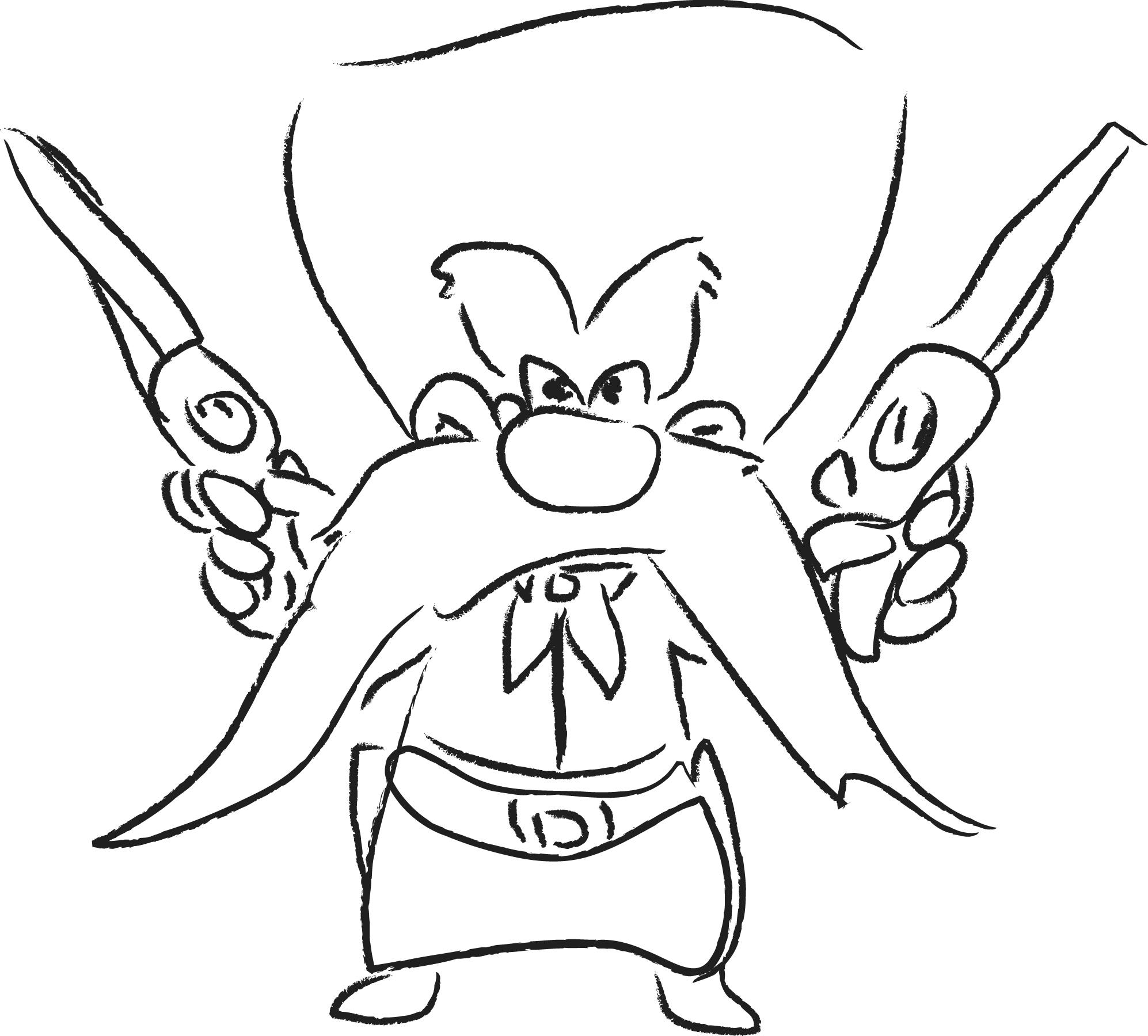 1994x1800 Drawing Drawings Of Gangster Cartoon Characters Together With