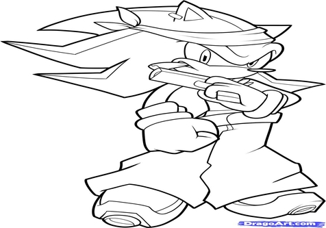 476x333 Gangsta Cartoon Coloring Pages Page Image Clipart Images