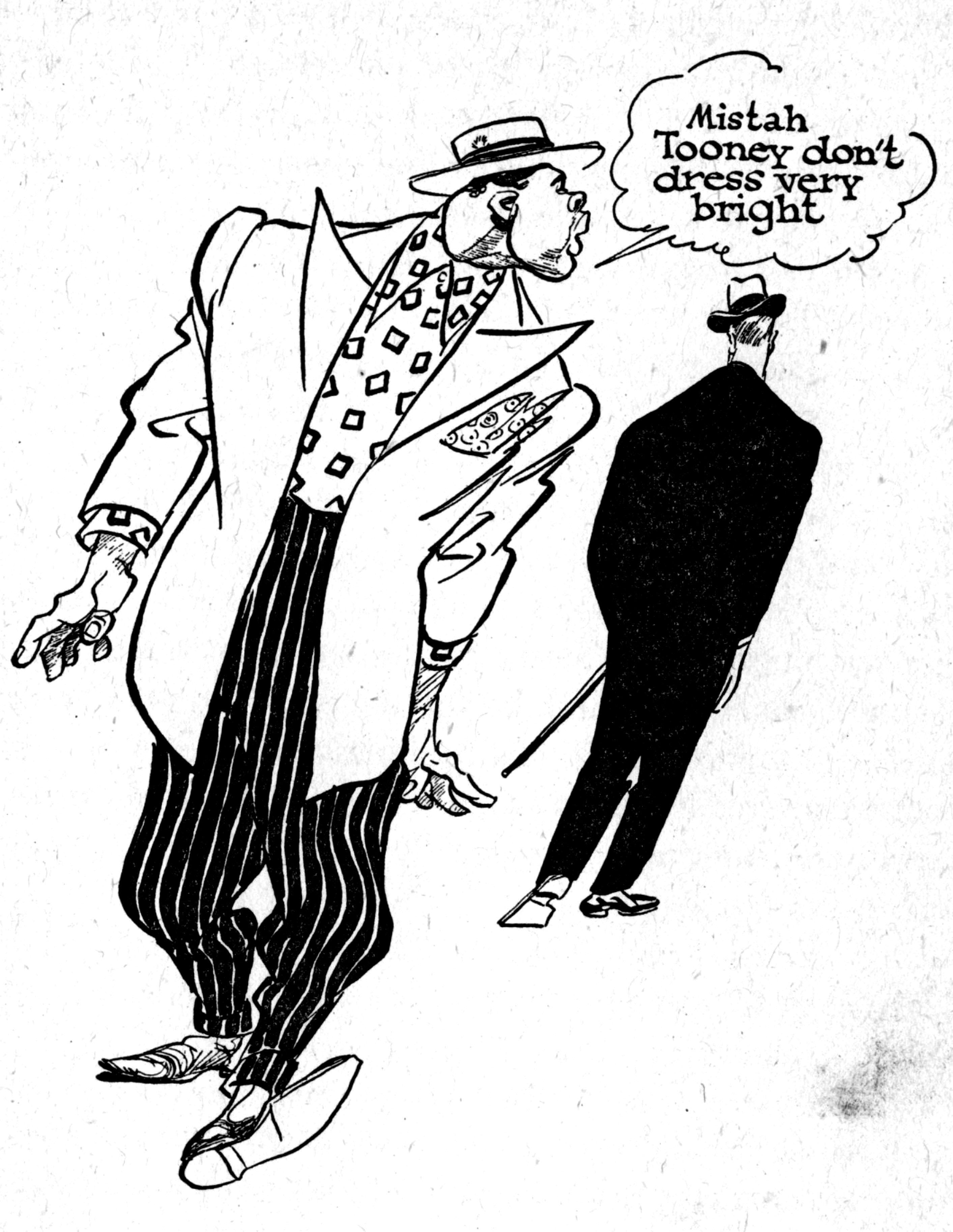 2826x3654 Cartoon Snap Gangsters, Gunsels, Crooks, Cops And Hitler