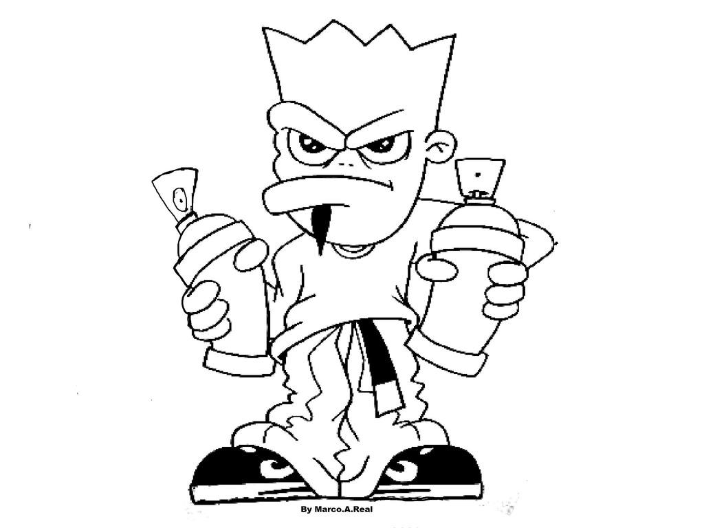 1024x768 Gangster Graffiti Characters Graffiti Drawings Of Spray Canswizard