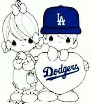 303x346 Precious Moments Dgrluvr Precious Moments, Dodgers