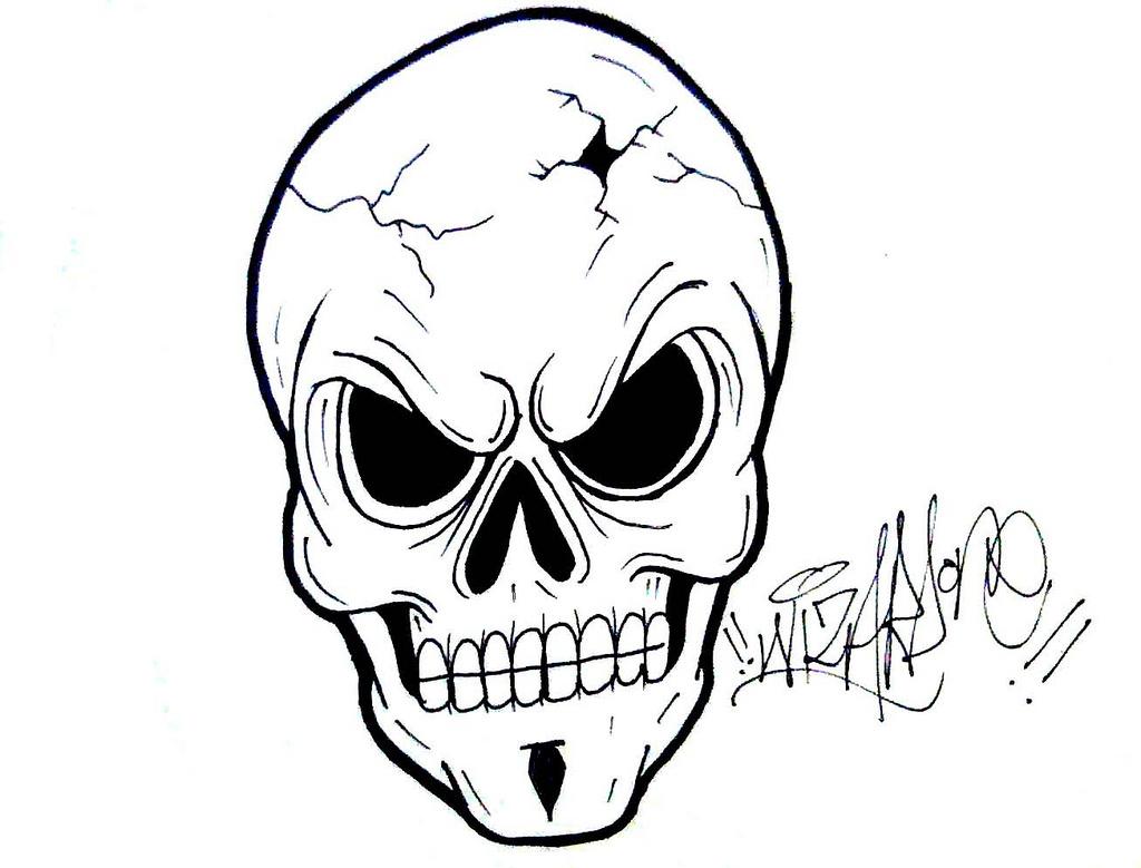 1024x779 Graffiti Characters Gangster Skull Skull Skull,graffiti
