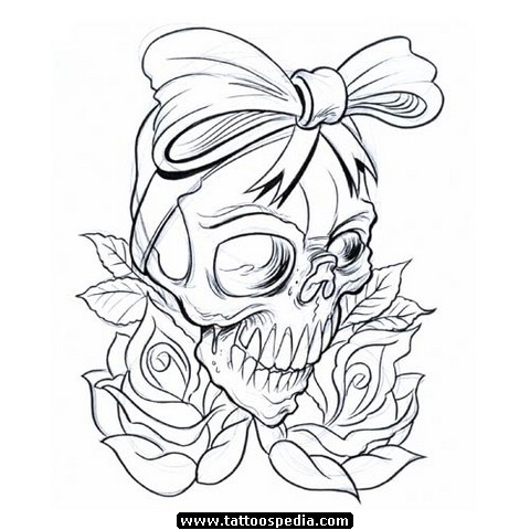 480x480 Mexican Gangster Skull Tattoos
