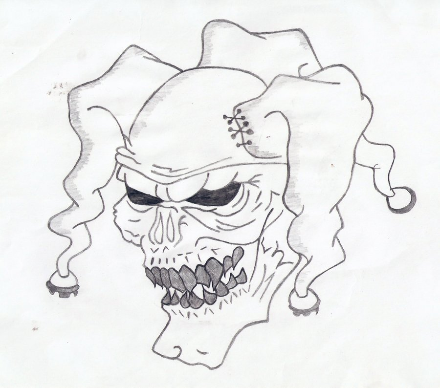 900x794 Coloring Pages Drawings Of Clowns Skull Tattoo Coloring Pages