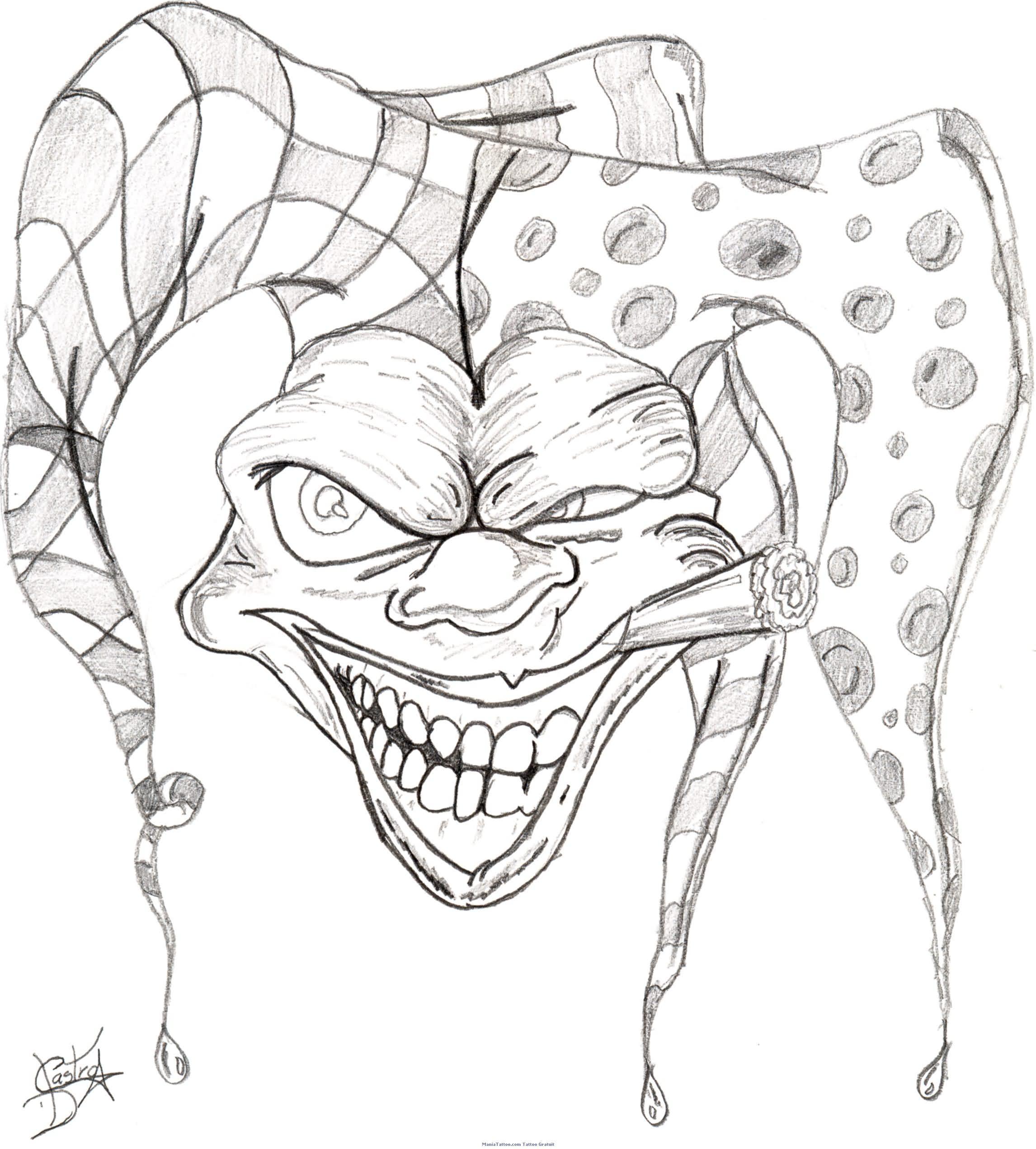 2292x2540 Drawing Gangsta Designs Gangster Tattoo Art Related Gangsta