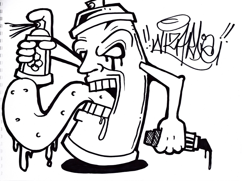 3000x2248 Cool Drawings Of Graffiti Gangsters How To Draw A Graffiti