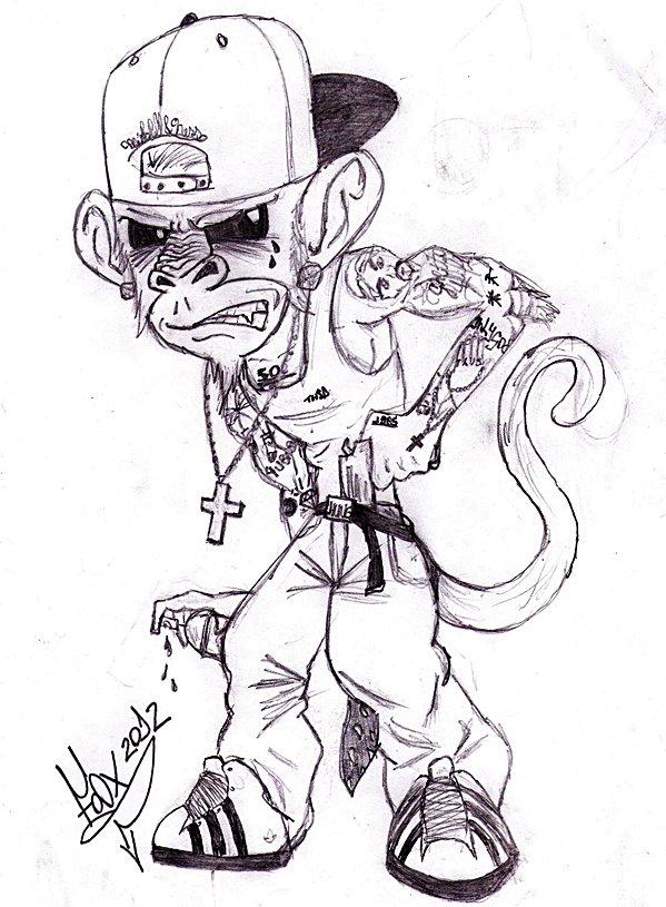 599x815 Photos Gangsta Cartoons Drawings,