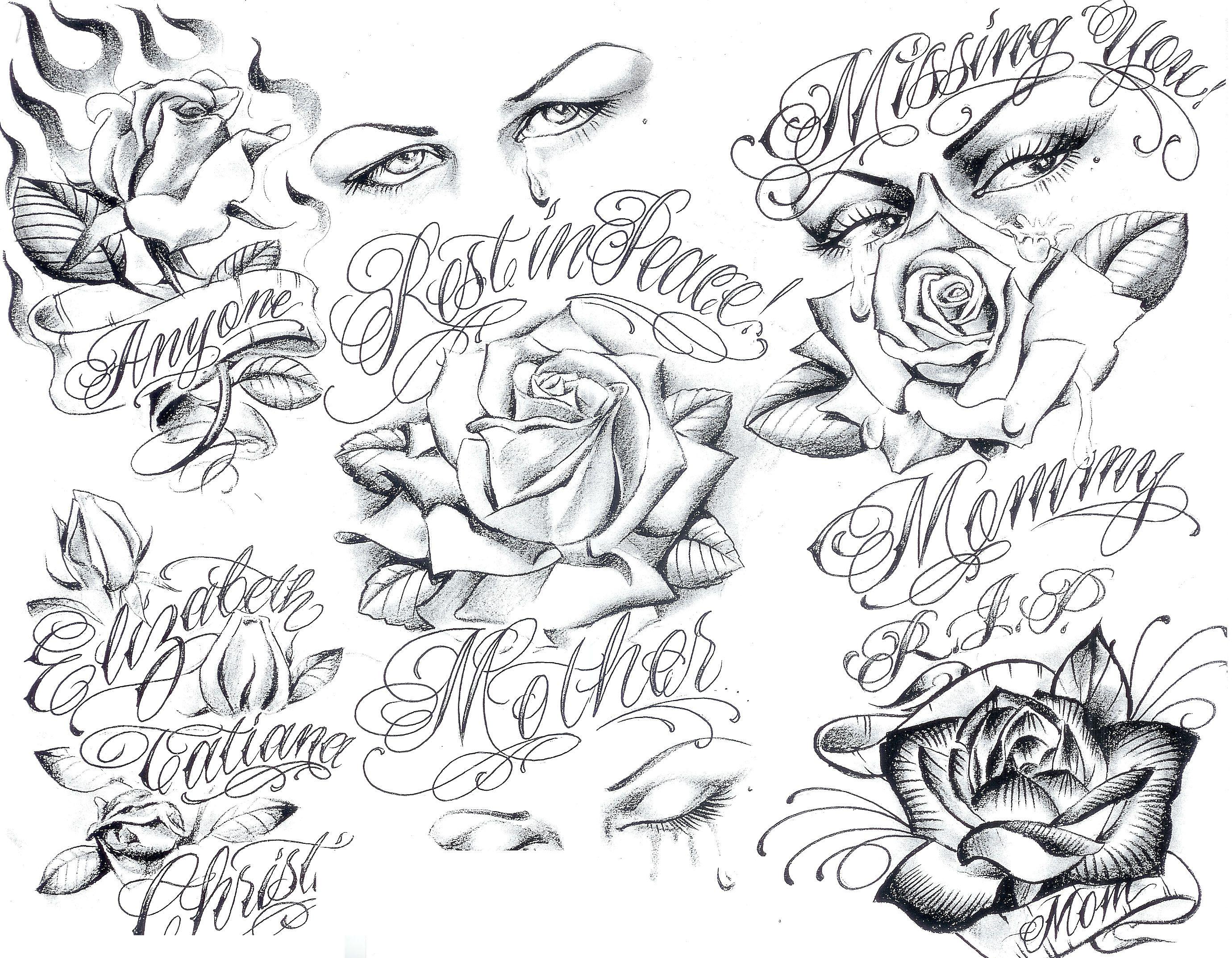 2760x2147 Art Gangster Tattoo Designs Tattoo Flash By Boog.