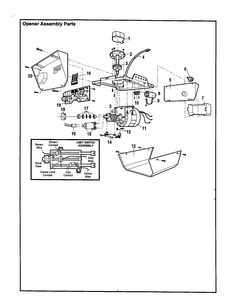 236x306 Opener Assembly Diagram Amp Parts List For Model 13953650srt