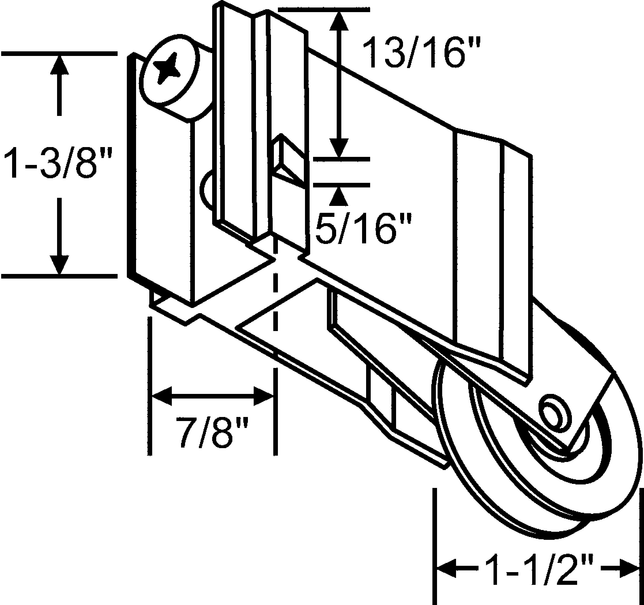 2234x2098 Patio Door Hardware