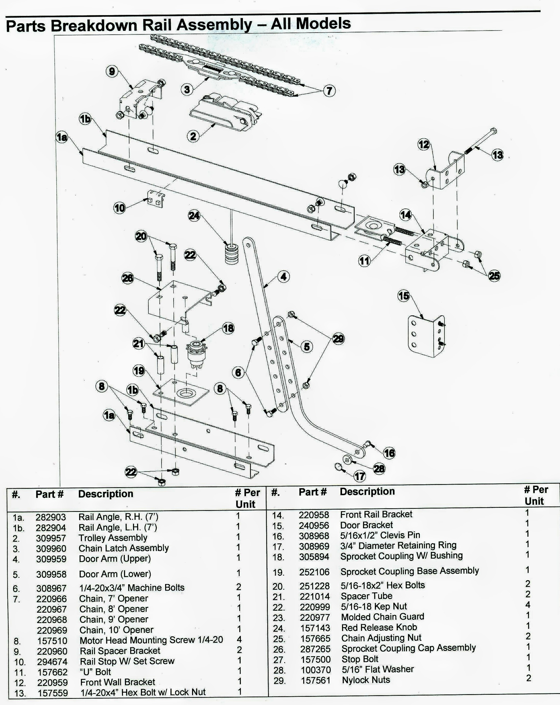 2181x2745 Craftsman Garage Door Opener Sensor Wiring Diagram Copy Garage