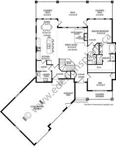 236x299 Bungalow Plan 2011580 With Angled Garage By E Designs Houseplans