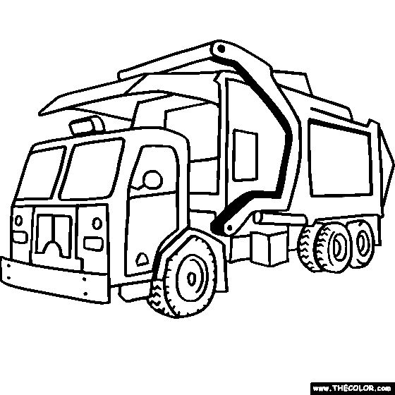 560x560 Technical Drawing For 3 Ton Isuzu Garbage Truck With Compactor
