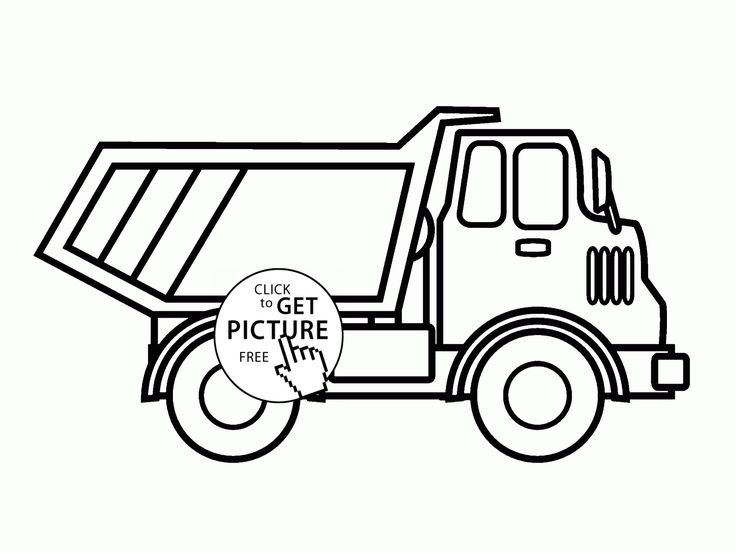 Garbage Truck Drawing