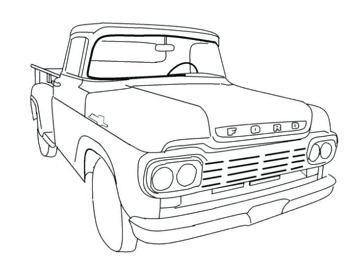 736x561 Old Truck Coloring Pages Unique Corvette Coloring Pages For Your
