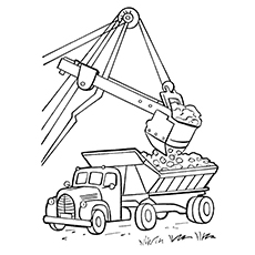 230x230 Top 25 Free Printable Truck Coloring Pages Online