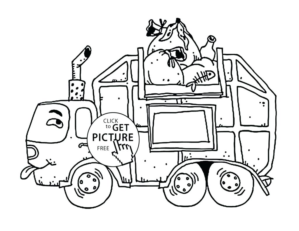 1024x792 Coloring Dump Truck Coloring Page