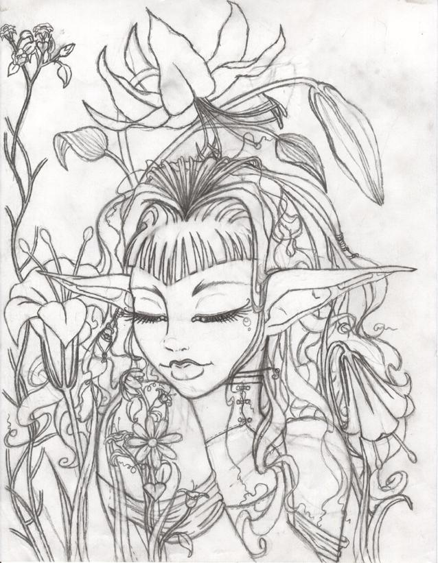 638x821 Flower Garden