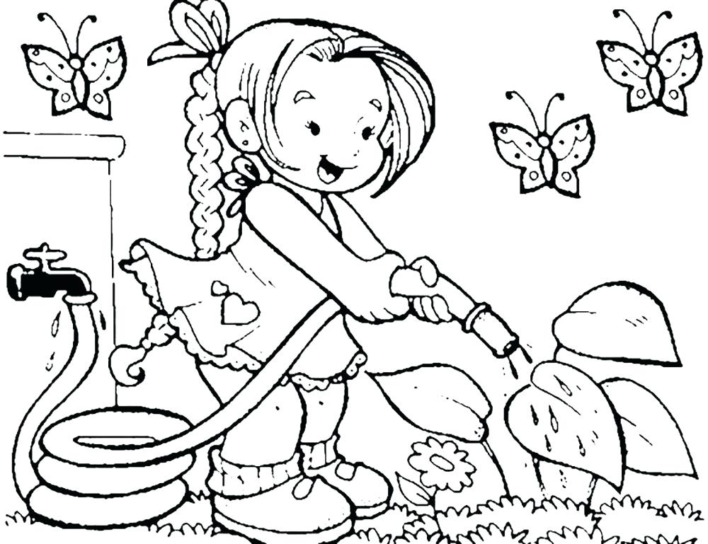 Garden Drawing For Kids at GetDrawings.com | Free for personal use ...