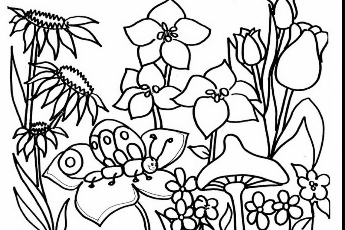 600x644 Barbapapa And Barbamama With Kids 1152x768 Beautiful Garden Coloring Page Free Printable Flowers Fairy Pages
