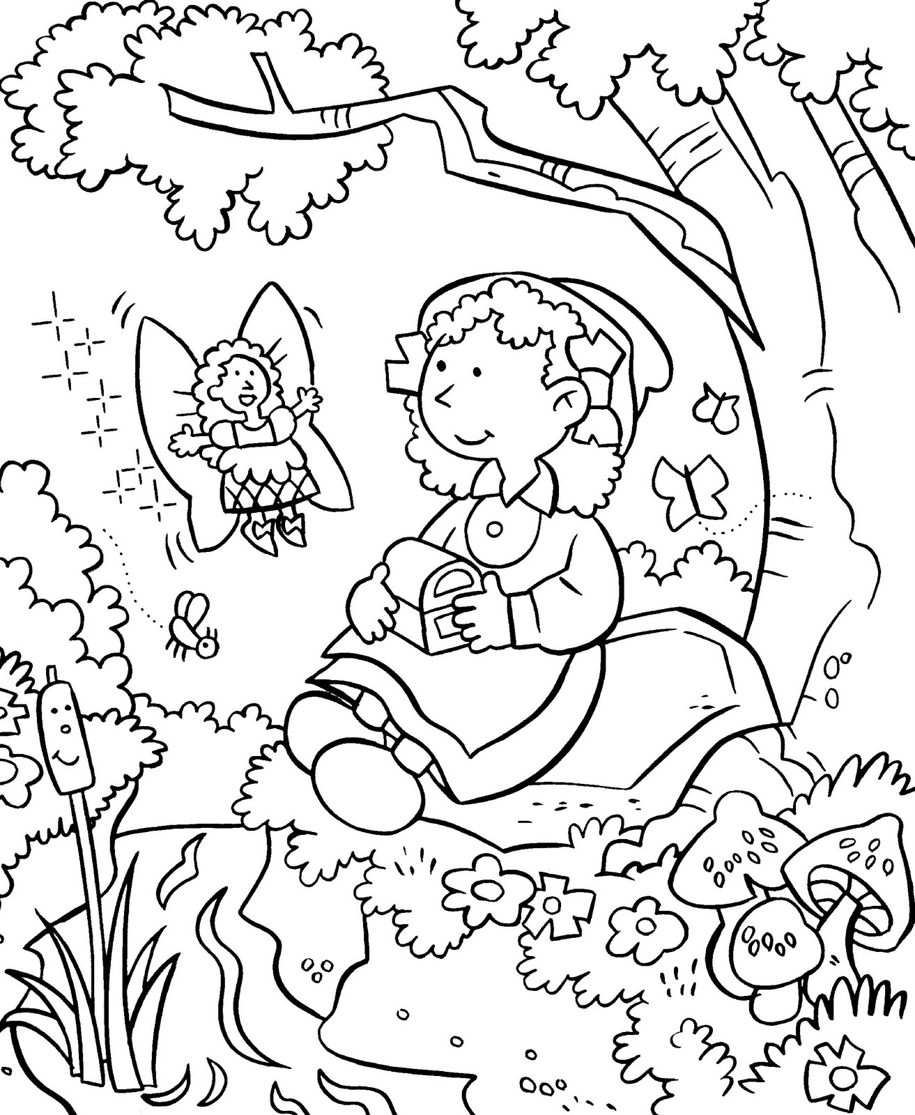 1313x1600 Coloring Pages For Kids Flower Garden Coloring Pages For Kids