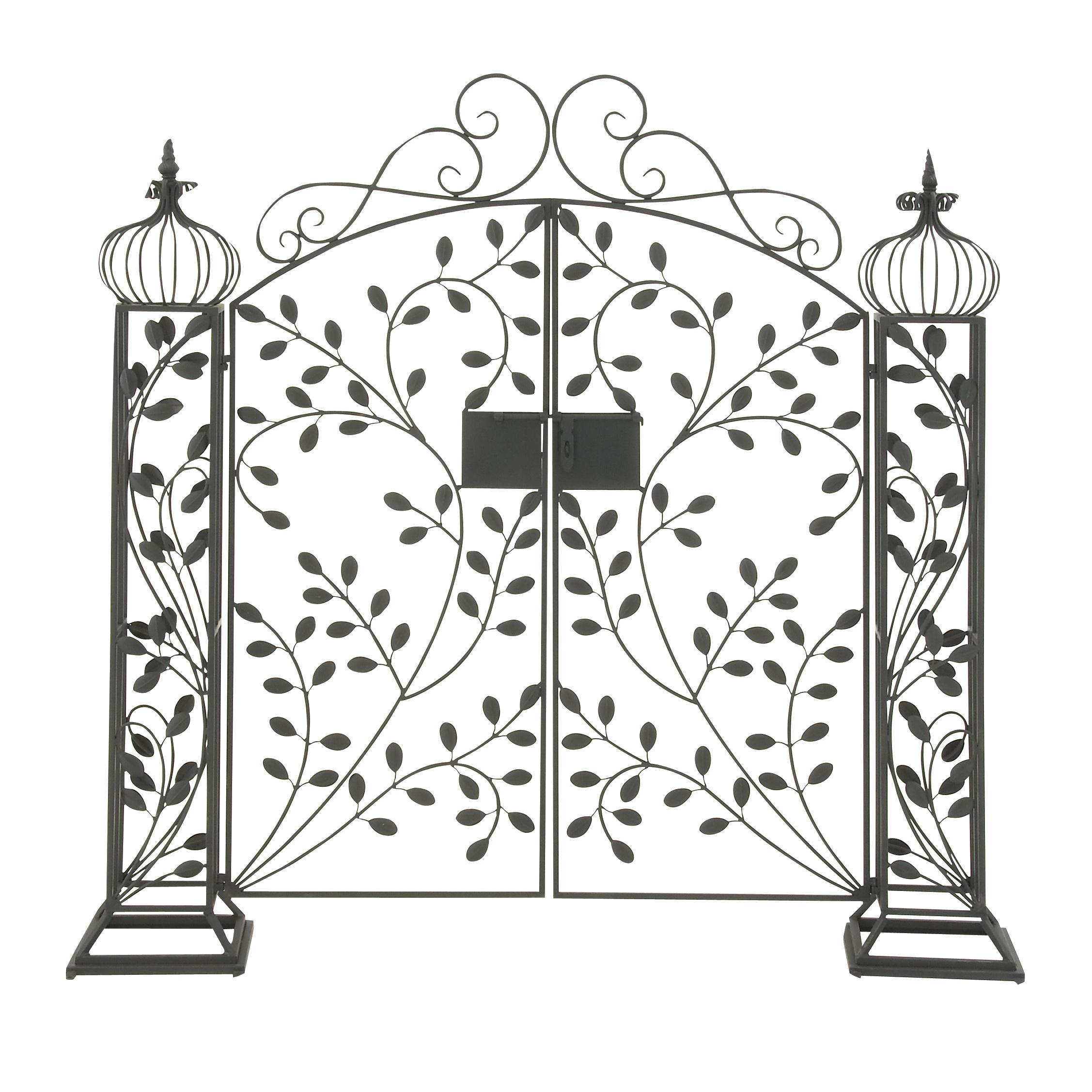 2254x2254 Captivating Metal Garden Gate