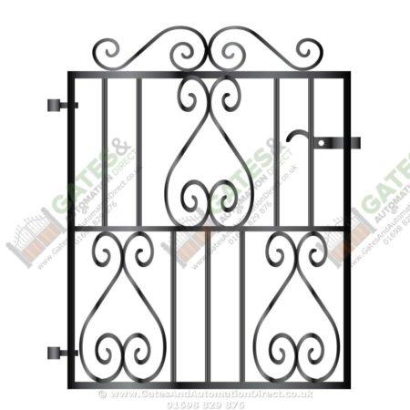 450x450 Metal Path Garden Gate 008