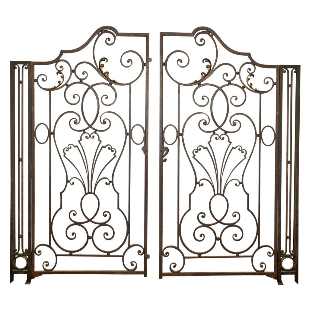 1024x1024 Wrought Iron Garden Gate Garden Wrought Iron Gate French