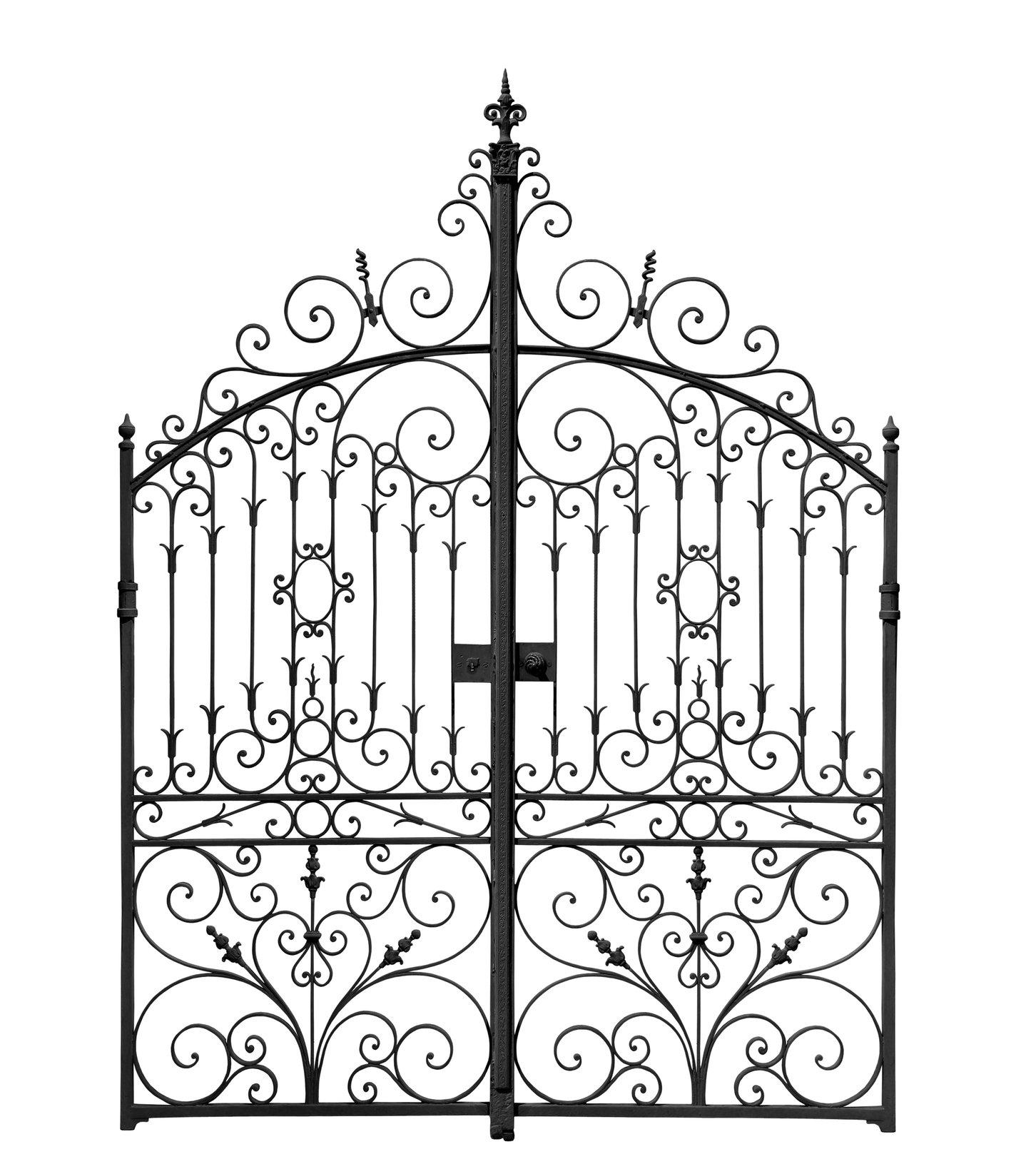 1417x1645 Decor Small Wrought Iron Gates Wrought Iron Gate