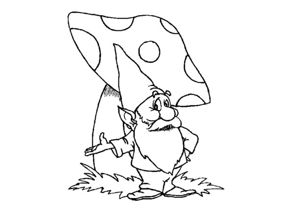 600x423 Gnome Coloring Pages Gnome Coloring Pages Funycoloring Funny