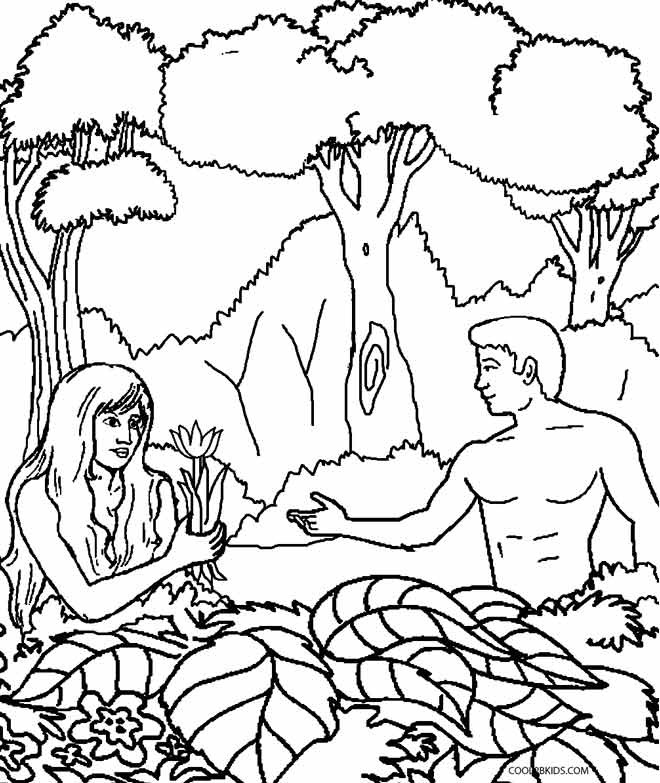 660x783 Helpful Garden Of Eden Coloring Page Printable Adam And Eve Pages