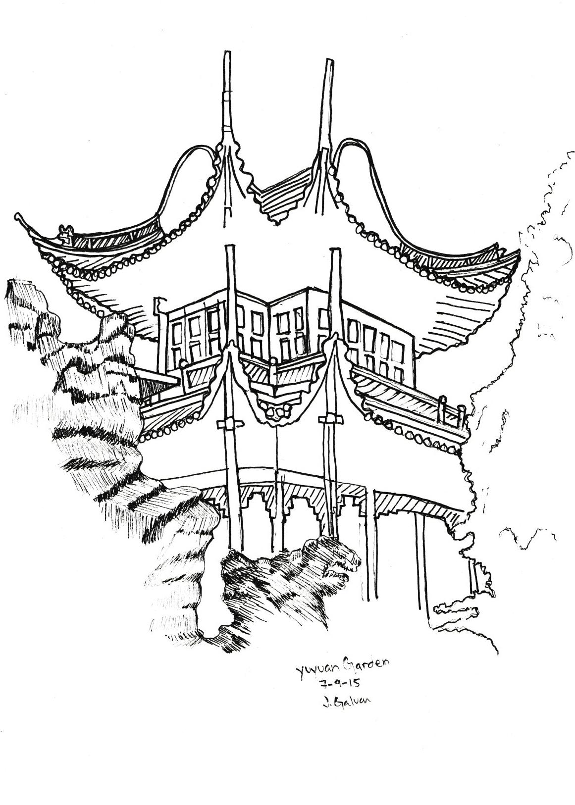 1161x1626 Yuyuan Garden Lyu Ren