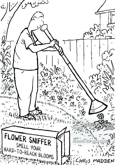 400x574 Gardening Tools Drawing Saleros.club
