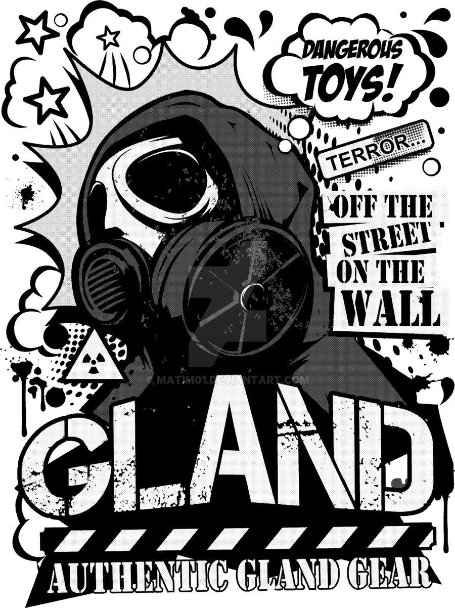 900x1202 Graffiti Character Gas Mask Skull Drawing A Gas Mask Character