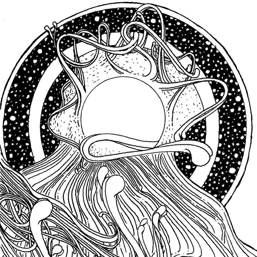 894x894 Heaven's Gate By Mothy Drawings