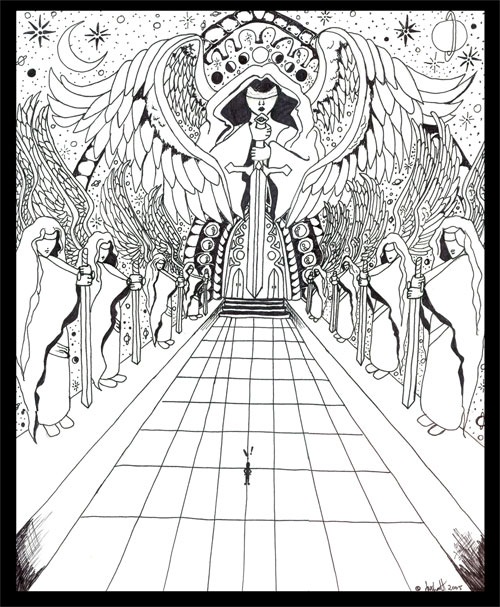 500x607 Heavens Gate By Saschaette