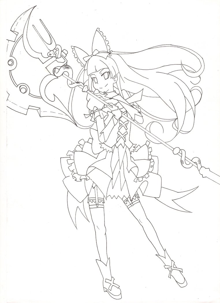 762x1048 Rory Mercury From Gate By Copictastic Of Anime
