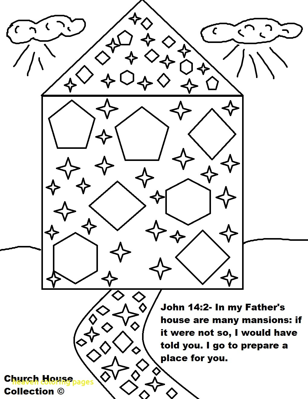 1019x1319 Heaven Coloring Pages With Heaven Gates Coloring Page Kids Drawing