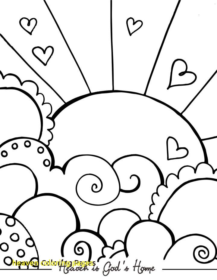 720x931 Heaven Coloring Pages With Treasure In Heaven Colouring Pages