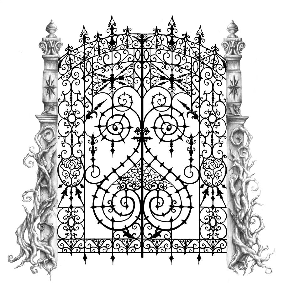 906x916 Tattoo Design The Death Vine