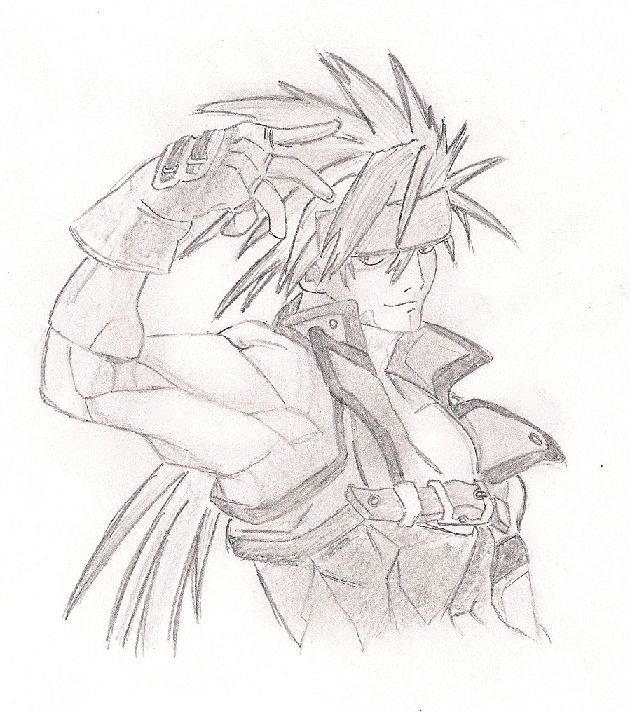899x1016 Guilty Gear Sol Badguy By Theinnocentdrawer