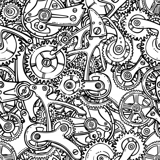 Gears Drawing at GetDrawings com | Free for personal use