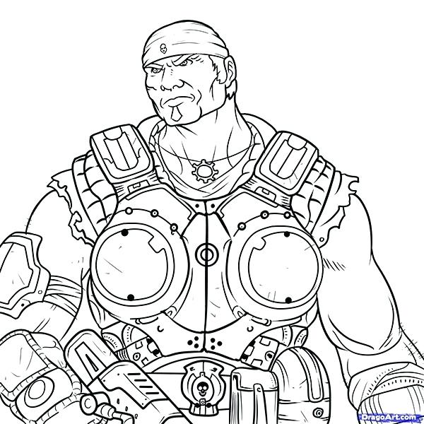 Gears Of War Drawing at GetDrawings.com | Free for personal use ...
