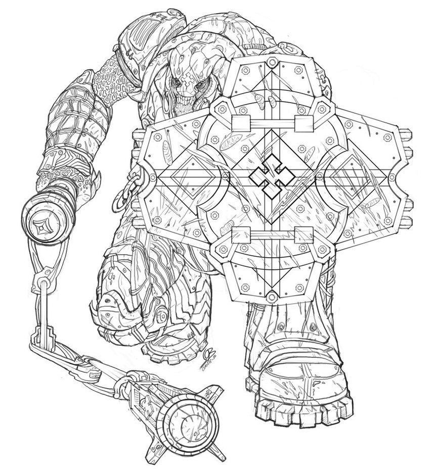 Gears Of War Drawing At Getdrawings Com Free For Personal Use